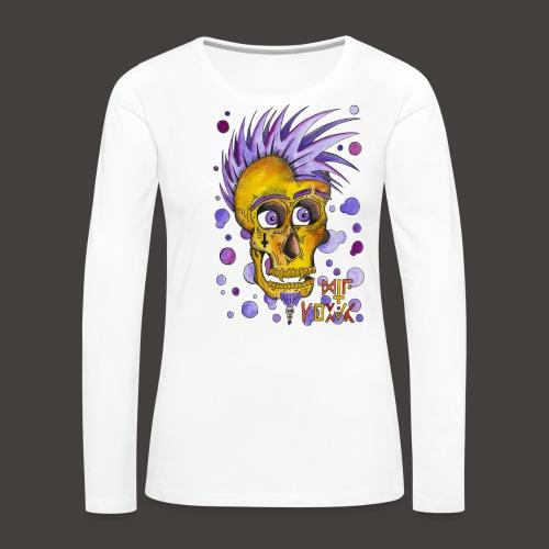 Autoportrait - T-shirt manches longues Premium Femme