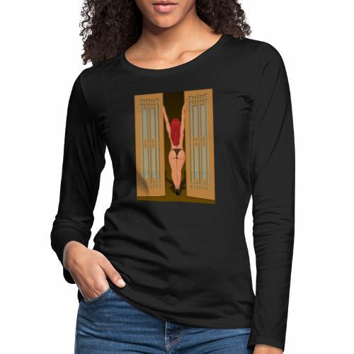 Frau - Frauen Premium Langarmshirt