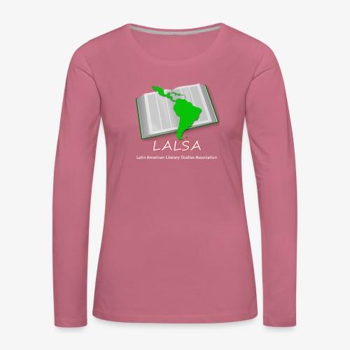 LALSA Light Lettering - Women's Premium Longsleeve Shirt
