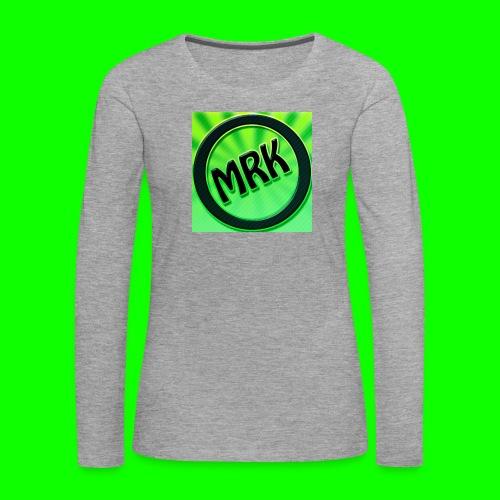 none - Camiseta de manga larga premium mujer