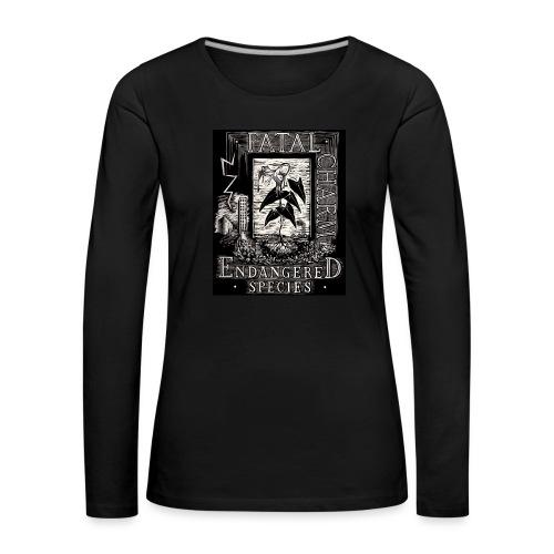 fatal charm - endangered species - Women's Premium Longsleeve Shirt