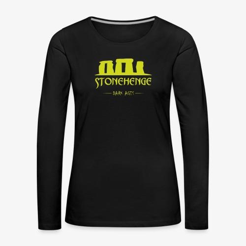 STONEHENGE - Maglietta Premium a manica lunga da donna