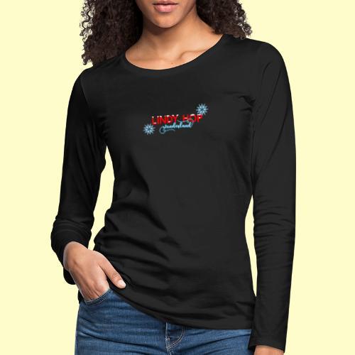 Lindy Hop Wonderland Tanz T-shirt - Frauen Premium Langarmshirt