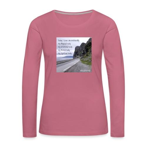 My bodys - Naisten premium pitkähihainen t-paita