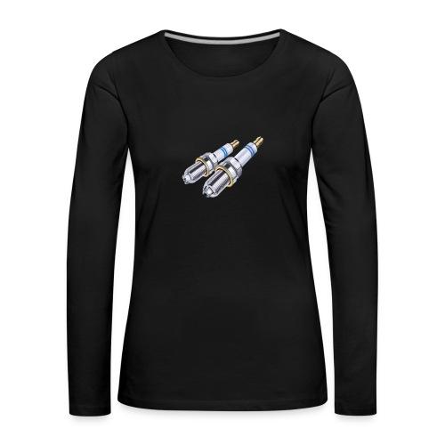 - bujia - - Camiseta de manga larga premium mujer