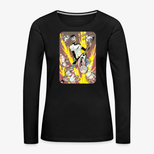 Leo Rock Bunny - Premium langermet T-skjorte for kvinner