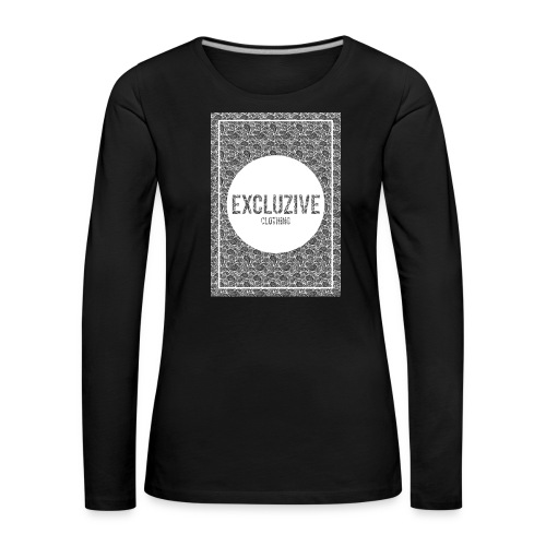 B-W_Design Excluzive - Women's Premium Longsleeve Shirt