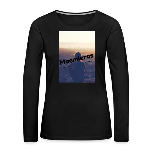 garciavlogs - Camiseta de manga larga premium mujer