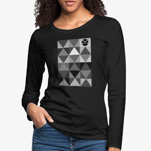|K·CLOTHES| TRIANGULAR ESSENCE - Camiseta de manga larga premium mujer