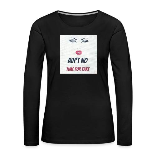 classy but sassy - Vrouwen Premium shirt met lange mouwen