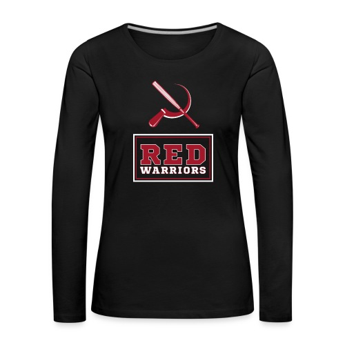 Red Warriors Logo2 - T-shirt manches longues Premium Femme