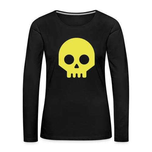 Vikisijästä tekijäksi - Naisten premium pitkähihainen t-paita