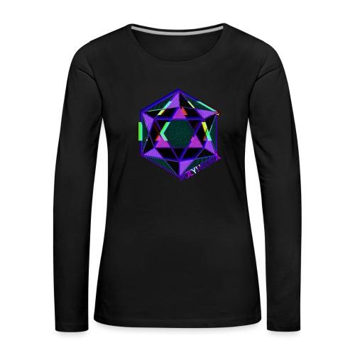 POLYHEDRA - Women's Premium Longsleeve Shirt