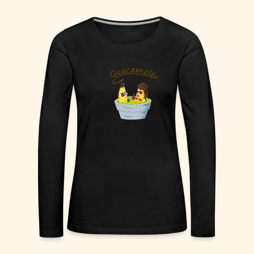 Guacamole - Camiseta de manga larga premium mujer