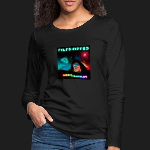 TiltShifted - Neon Traveler - Naisten premium pitkähihainen t-paita