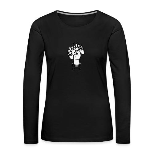 Gamer - Frauen Premium Langarmshirt