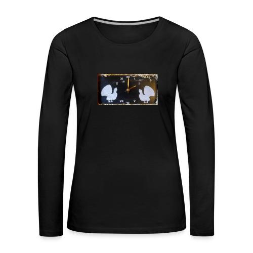 Metsot - Naisten premium pitkähihainen t-paita