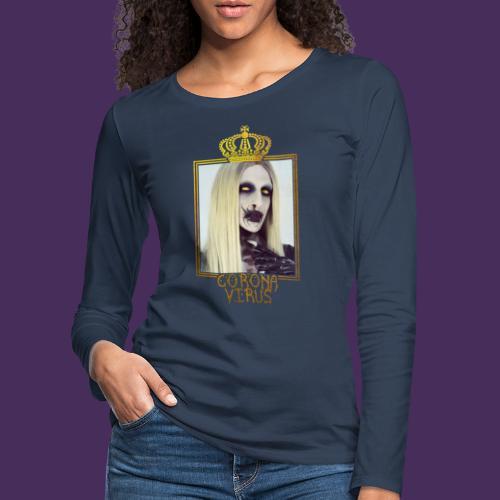 Corona Virus - Women's Premium Longsleeve Shirt