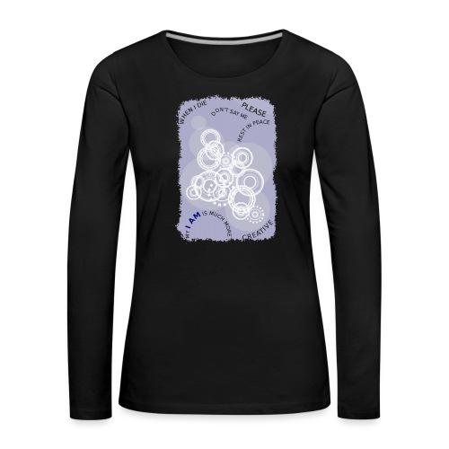 I AM MUCH MORE (donna/woman) - Maglietta Premium a manica lunga da donna