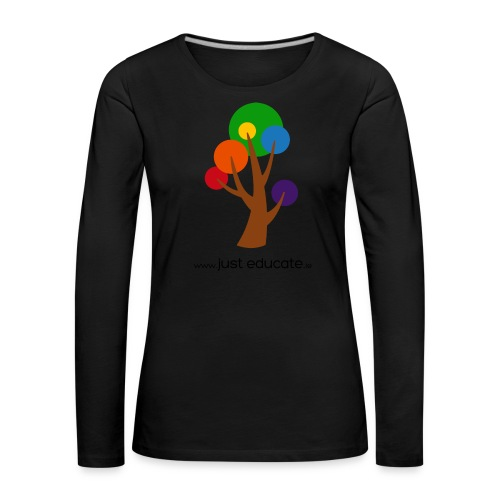 Just Educate.ie - Women's Premium Longsleeve Shirt