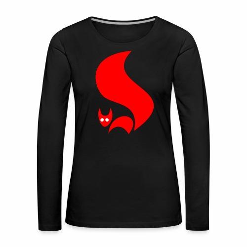 Eichhörnchen - Frauen Premium Langarmshirt