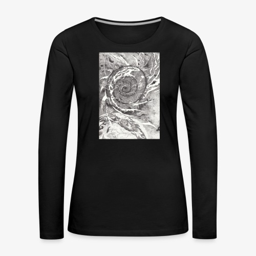 Decipher Entity by Rivinoya - Naisten premium pitkähihainen t-paita