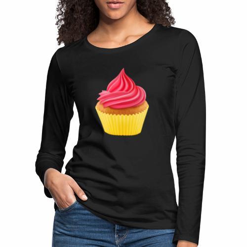 Cupcake - Frauen Premium Langarmshirt
