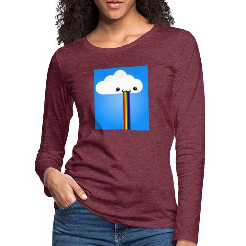 rainbow - Frauen Premium Langarmshirt