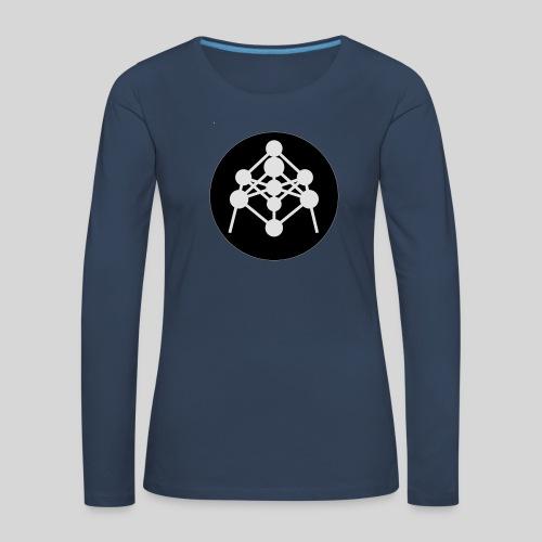 Atomium - T-shirt manches longues Premium Femme
