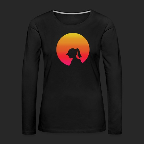 Gradient Girl - Women's Premium Longsleeve Shirt