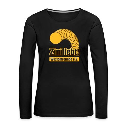 Zini lebt! - Frauen Premium Langarmshirt