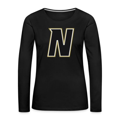 Nordic Steel Black N - Women's Premium Longsleeve Shirt