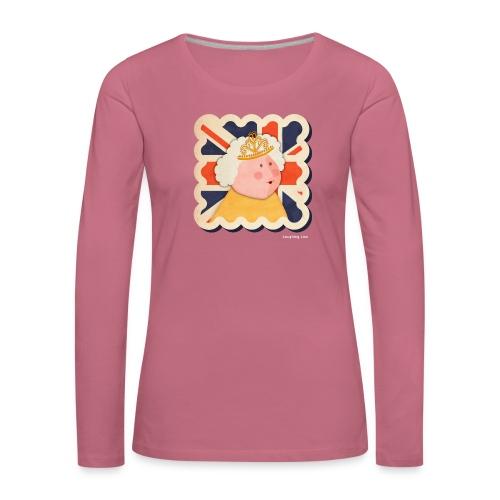 The Queen - Women's Premium Longsleeve Shirt