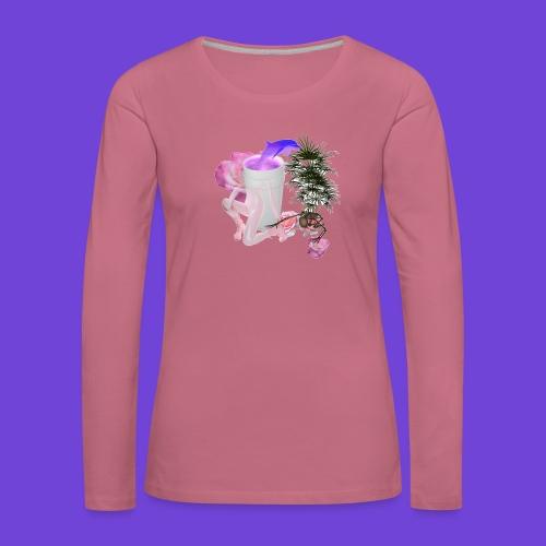Purple Drank - Maglietta Premium a manica lunga da donna