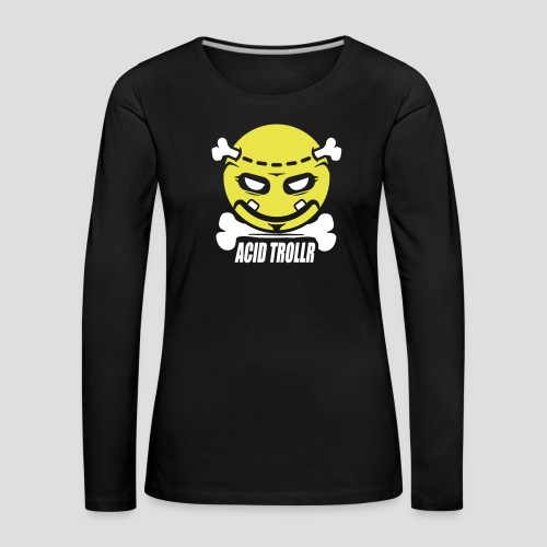 Acid TROLLR - T-shirt manches longues Premium Femme