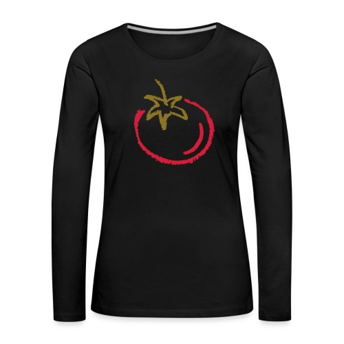 tomato 1000points - Women's Premium Longsleeve Shirt