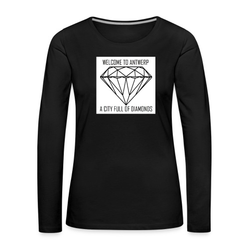 Antwerp lover - Vrouwen Premium shirt met lange mouwen