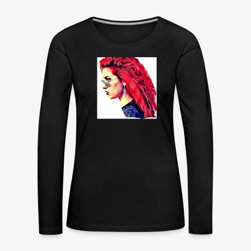 MINERVA - Camiseta de manga larga premium mujer