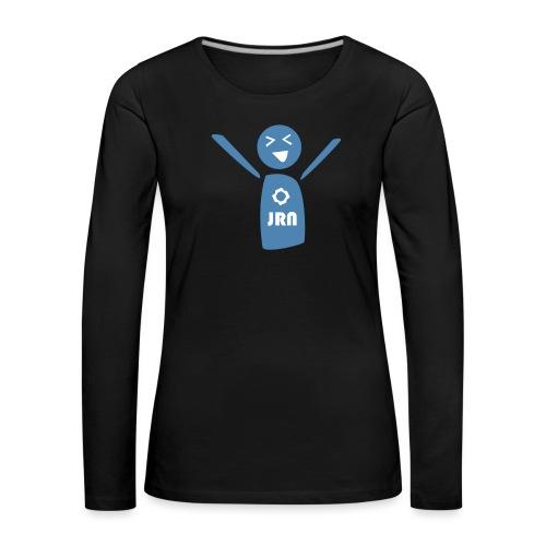 JR Mascot - Women's Premium Longsleeve Shirt