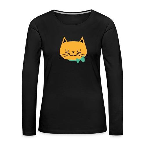 cat - T-shirt manches longues Premium Femme