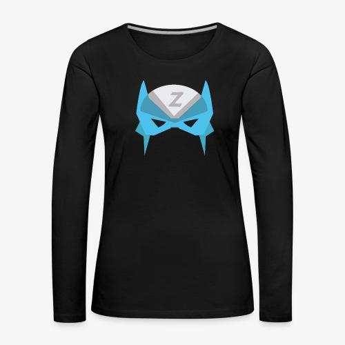 MASK 3 SUPER HERO - T-shirt manches longues Premium Femme