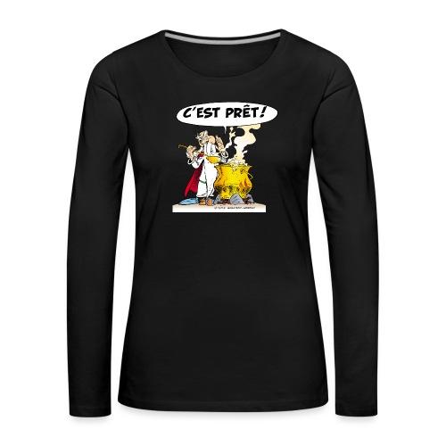 Asterix & Obelix - Miraculix potion magique potion - T-shirt manches longues Premium Femme
