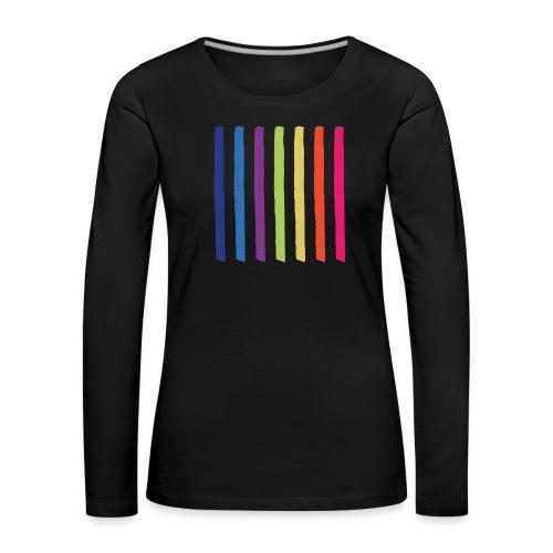 Lines - Women's Premium Longsleeve Shirt