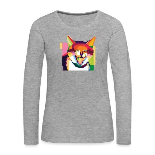 p3tshirt - Frauen Premium Langarmshirt