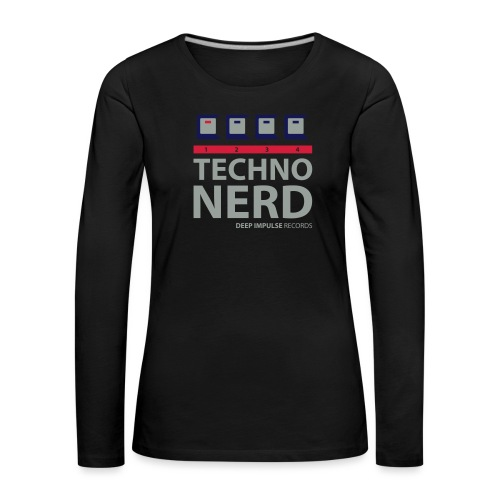 Techno Nerd - Women's Premium Longsleeve Shirt