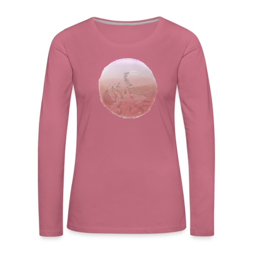 Kill The Dragon - T-shirt manches longues Premium Femme