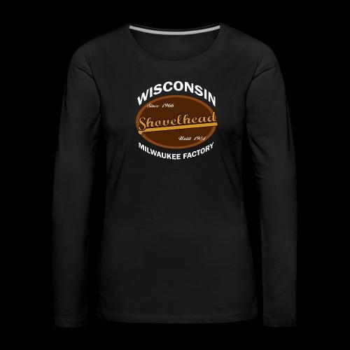 Milwaukee Shovelhead - Frauen Premium Langarmshirt