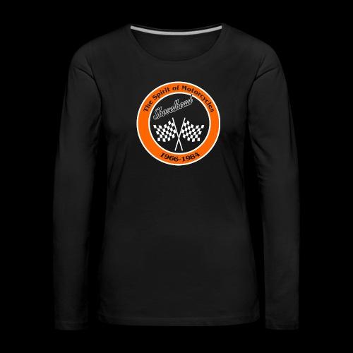 Zielflagge Shovelheat - Frauen Premium Langarmshirt