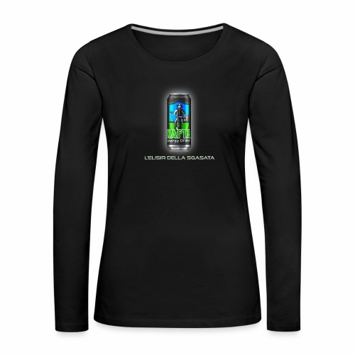 Nafta Energy Drink - Maglietta Premium a manica lunga da donna