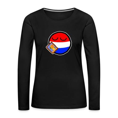 Netherlandsball - Women's Premium Longsleeve Shirt